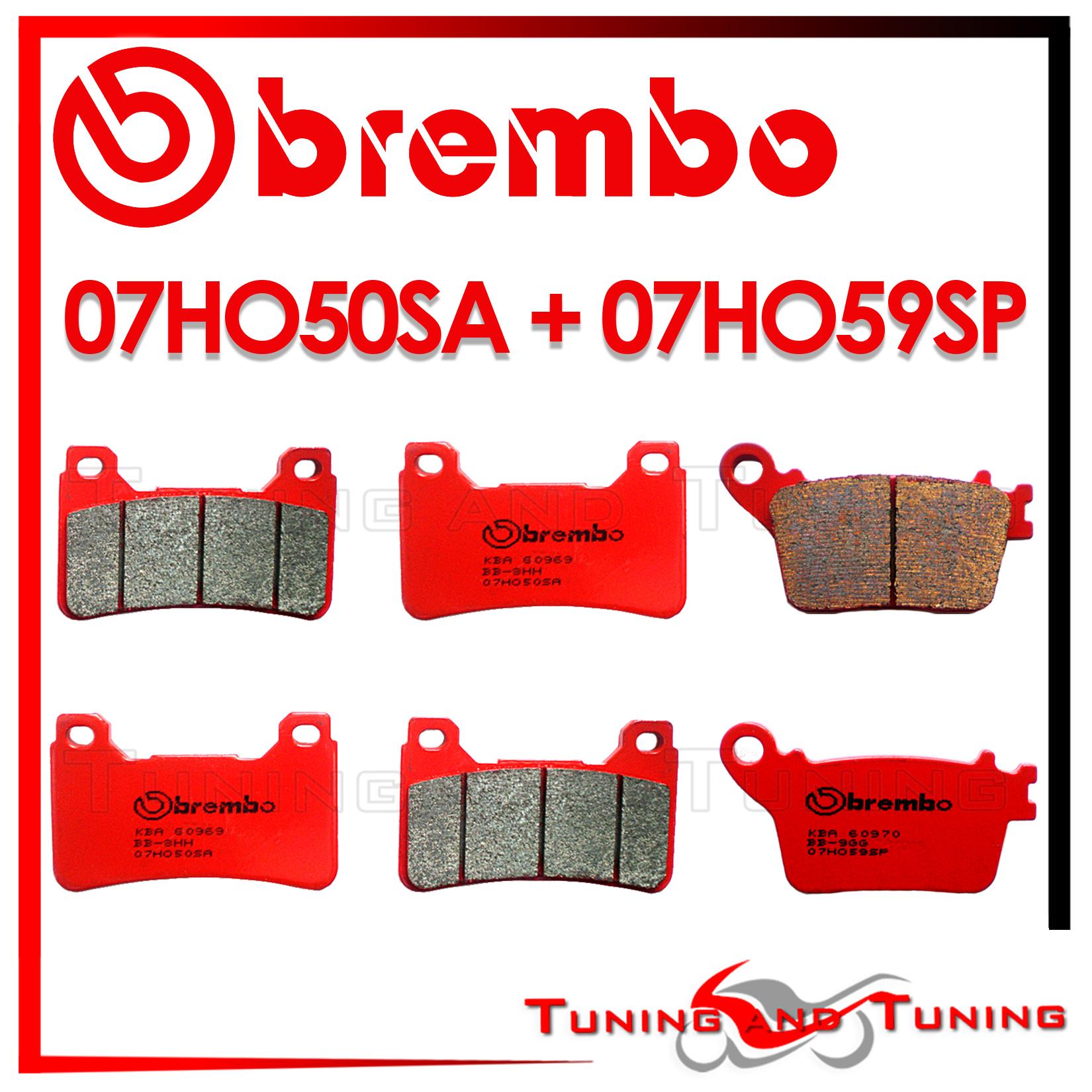 Post CC HONDA CBR 1000 RR 2009 09 2010 10 Pastiglie Freno BREMBO Anteriori SA