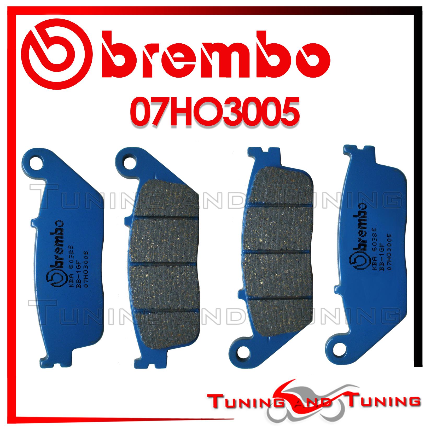 Pastiglie BREMBO CARBON CERAMICO HONDA CB F HORNET 600 2001 2002 2003 07HO3005