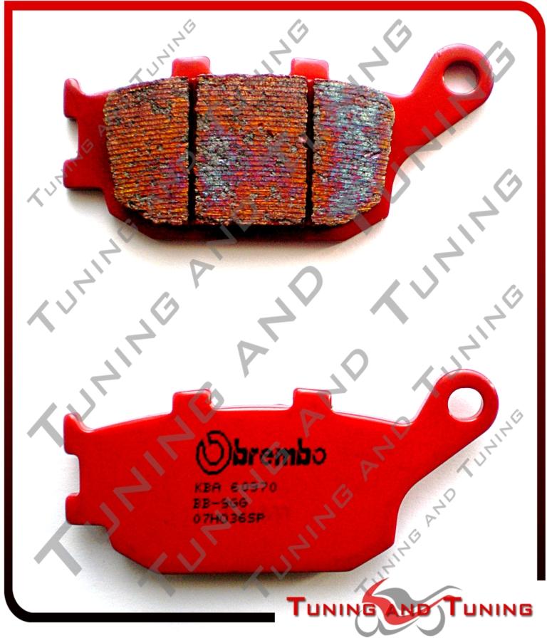 Pasticche freno Posteriore BREMBO SP Per HONDA CBR F 600 2005-2006-2007 07HO36SP